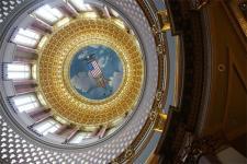 Inside the Capital Building - Des Moines, IA
