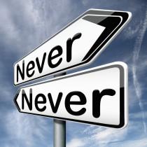 Never copy
