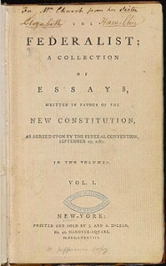 Federalist Paper Cover