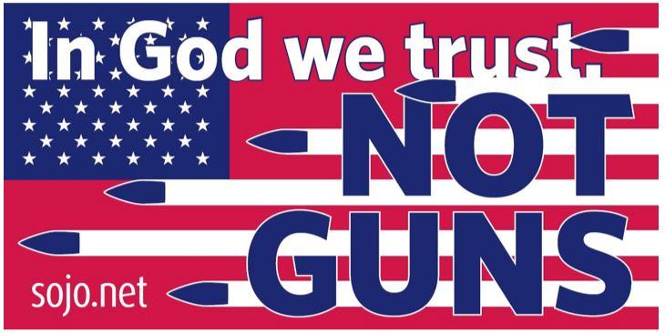 In God Not Guns