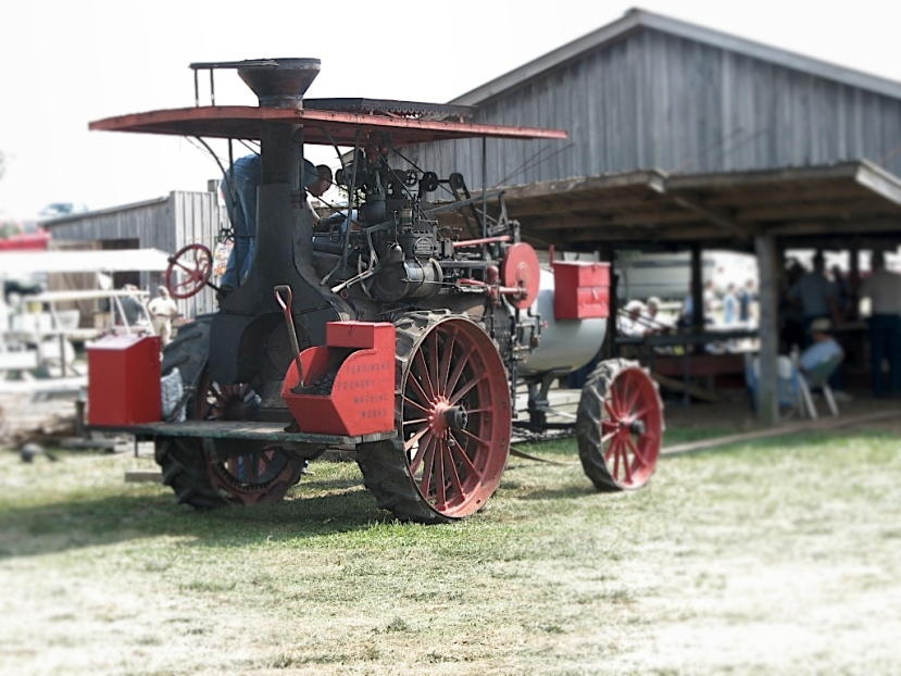 Old Time Tractors…