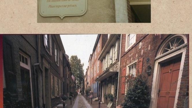 Elfreth's Alley…