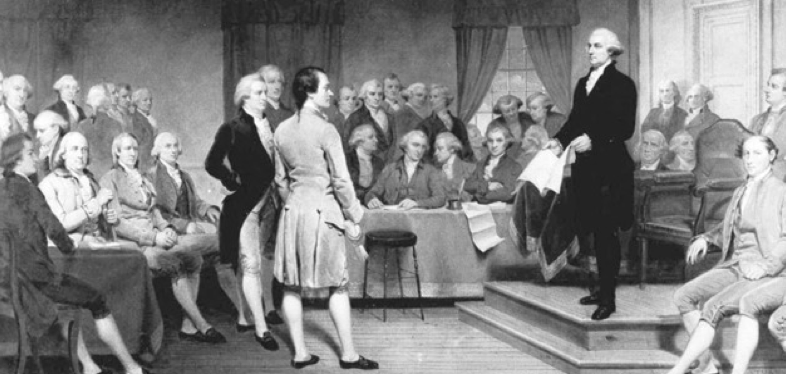 The Constitutional Convention…