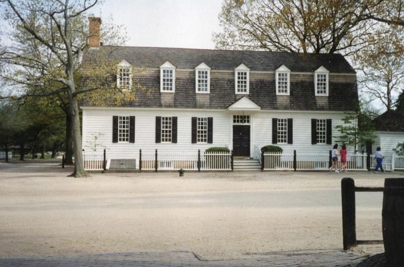 Colonial Williamsburg…