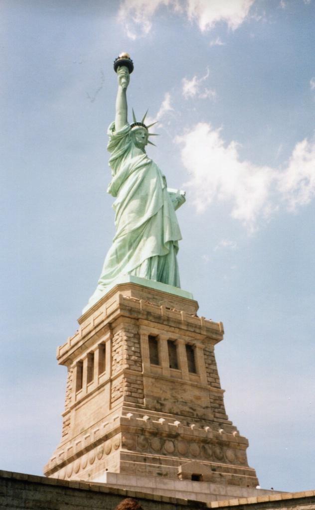Lady Liberty…