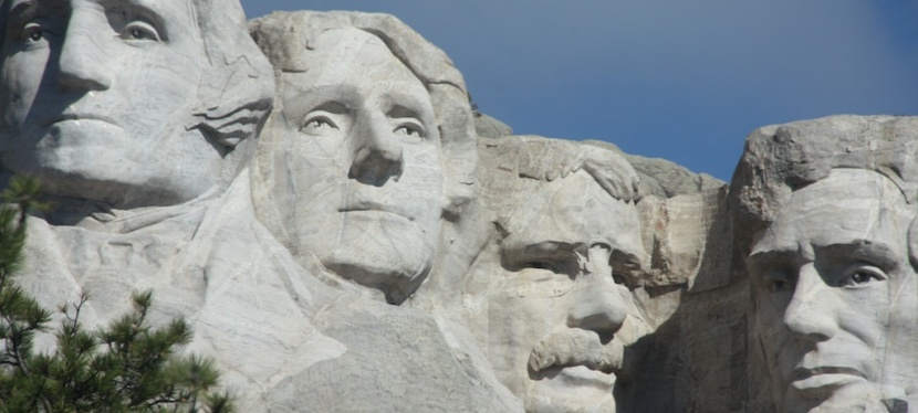 Mount Rushmore…