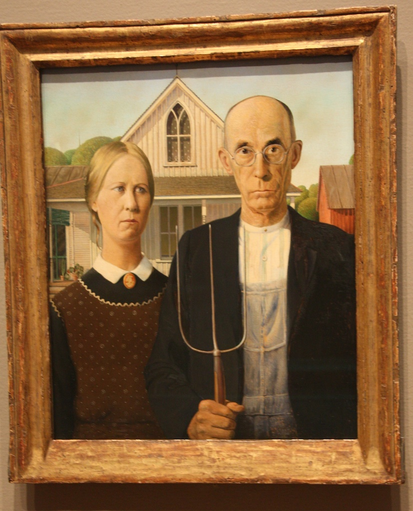 American Gothic…
