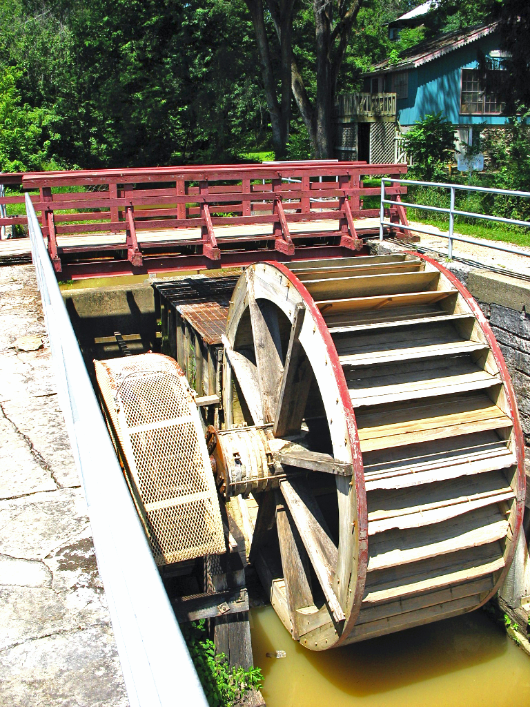 The Water Wheel…