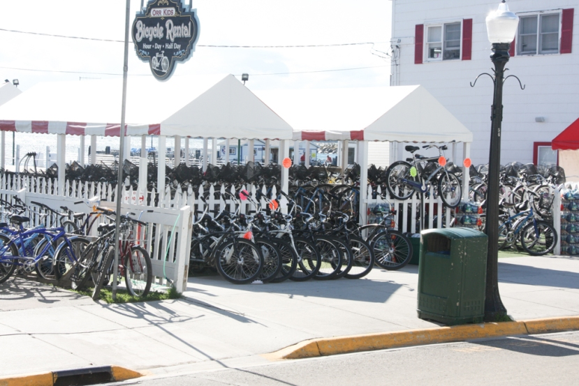 Mackinac Island – Bicycles