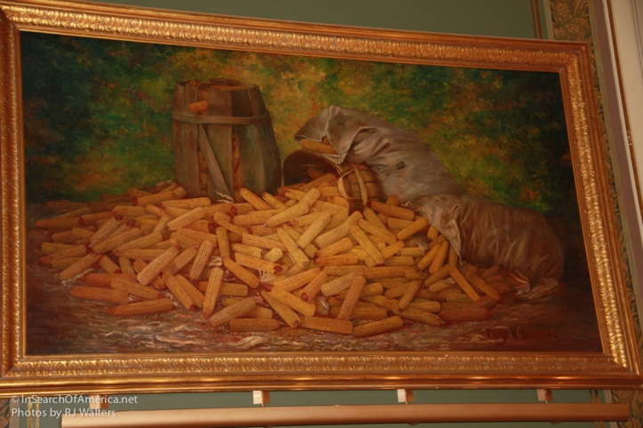 Des Moines State Capital  Pic of Corn