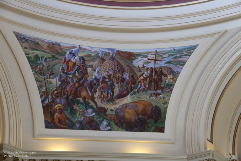 Oklahoma State House Art-3