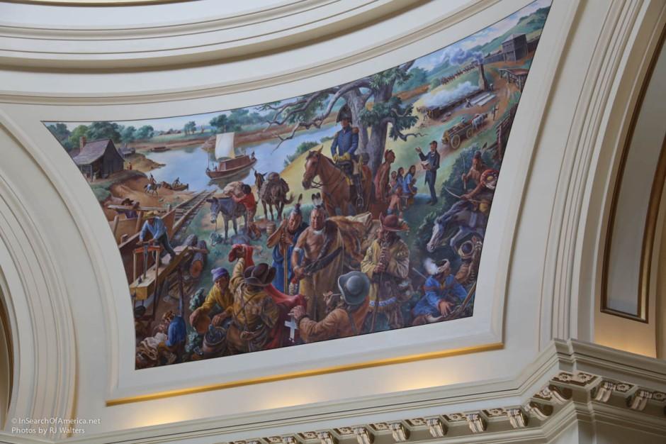 Oklahoma State House Art-4