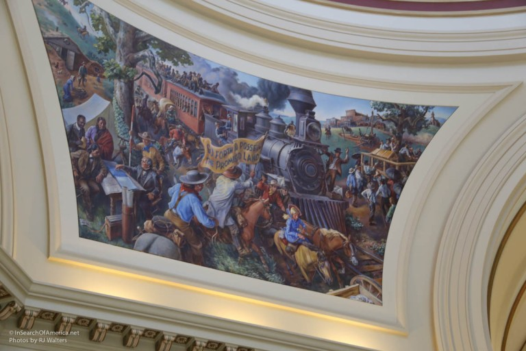 Oklahoma State House Art-5