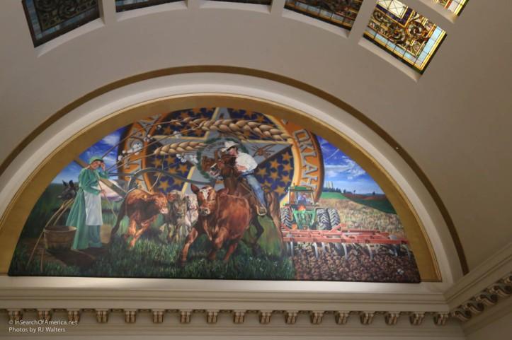 Oklahoma State House Art-8