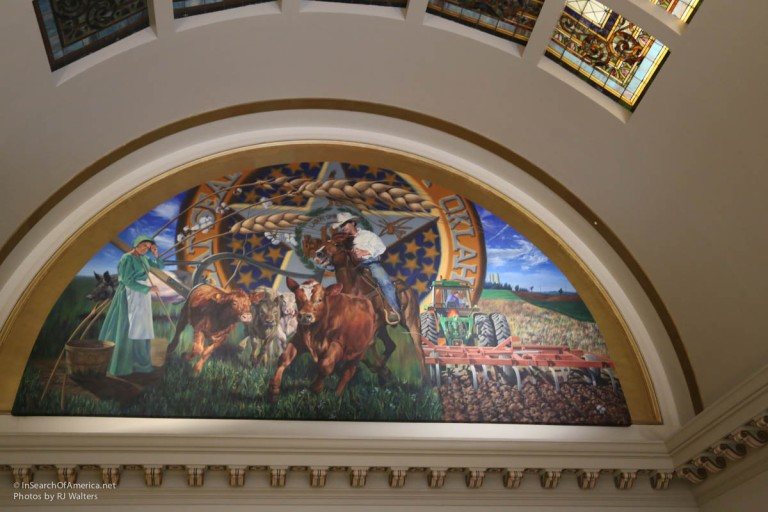 Oklahoma State House Art-8