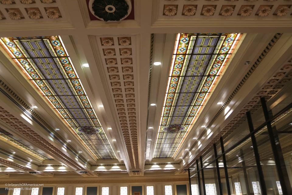 OK Statehouse ceiling