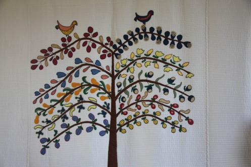 A Tree of Life Quilt