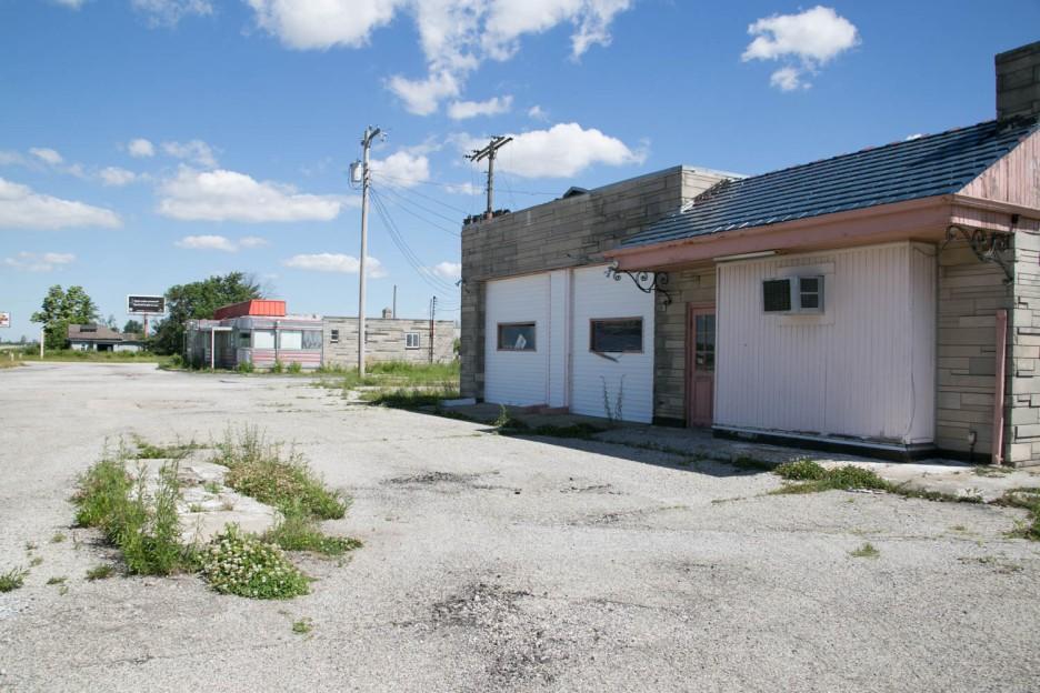 Diner Gas Station
