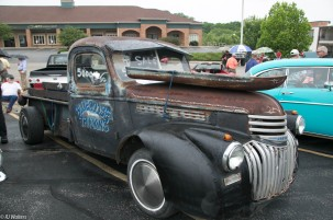 A rat rod in Bloomington