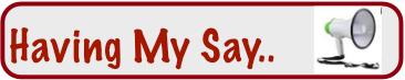 HavingMySay Banner