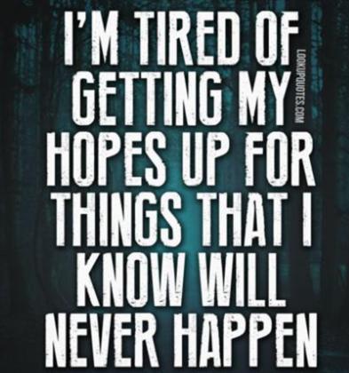 Getting My HopesUp…