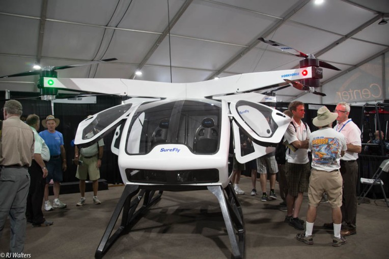 For a mere $200,000 you can get one of these two person drones driven by an iPad..