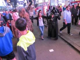 Times Square Partiers